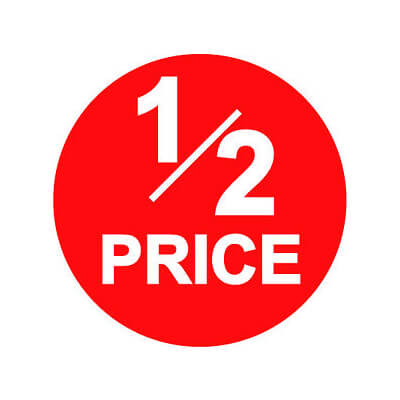 Half Price! Freezer Trio