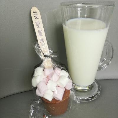 Milk Hot Chocolate Spoon