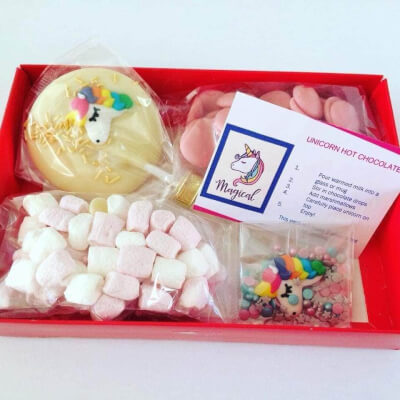 Unicorn Hot Chocolate Gift Set