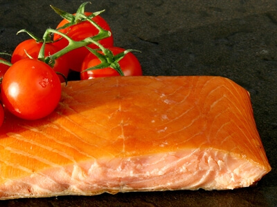Kiln Roasted Smoked Salmon