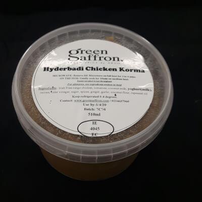 Hyderbadi Chicken Korma