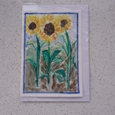 Sunflower Greeting Card - S2
