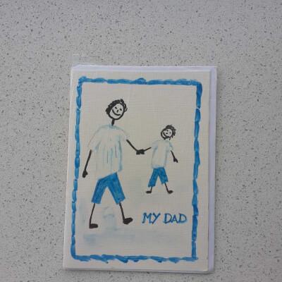 Dad Greeting Card - Y1