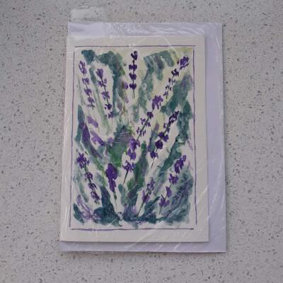 Lavender Greeting Card - L1