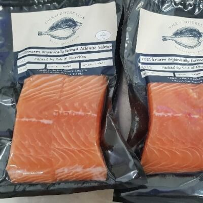 Farmed Glenarm Salmon 260G