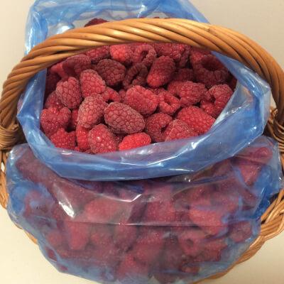 Frozen Raspberries 1 Kg