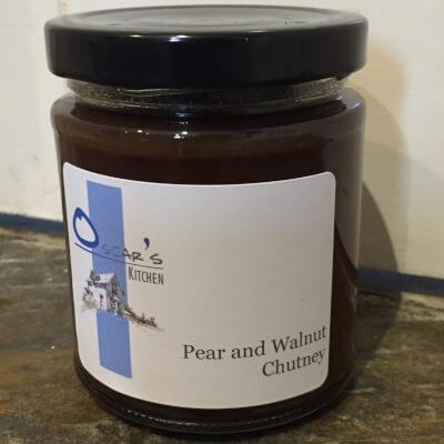 Pear And Walnut Chutney