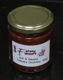 Hot And Smoky Tomato Chutney