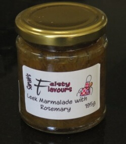 Leek Marmalade With Rosemary