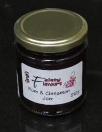 Plum And Cinnamon Jam