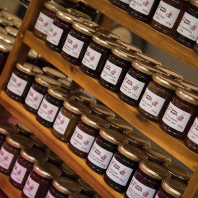 Rhubarb Strawberry And Vanilla Jam
