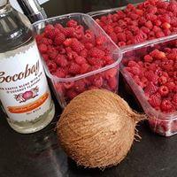 Raspberry Jam With Coconut Rum