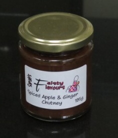 Spiced Apple And Ginger Chutney