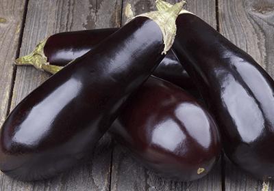 Organic Aubergine Grown In Gloucestershire