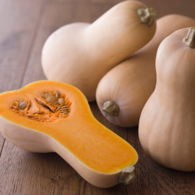 Organic Butternut Squash Grown In Somerset