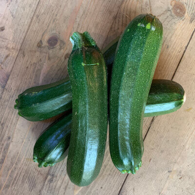 Organic Courgette Grown In Gloucestershire