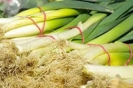 Leeks Grown At Vallis Veg