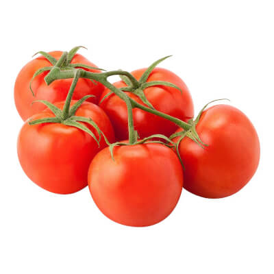 Organic Vine Tomatoes Grown In The U.K.