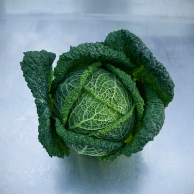 Cabbage Savoy Grown At Vallis Veg