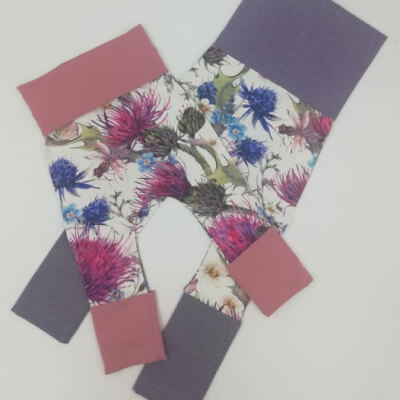 Childrens On The Grow Thistle Leggings