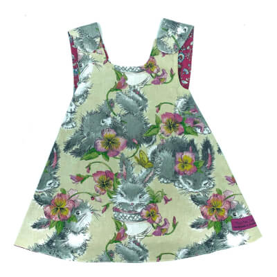 Rabbit Reversible Dress 6-12 Months