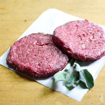 Organic Gluten Free Beef Burgers (X6)
