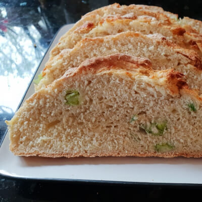 Cheese And Scallion Loaf - Large