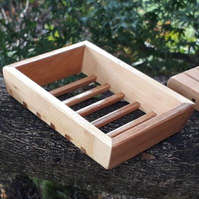 Smelleez - Wooden Soap Dish