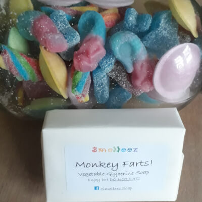 Smelleez - Monkey Farts! Soap Bar
