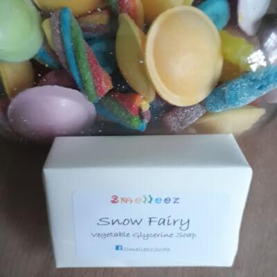 Smelleez - Snow Fairy Soap Bar