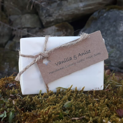 Smelleez Vanilla & Anise Goats' Milk Soap Bar