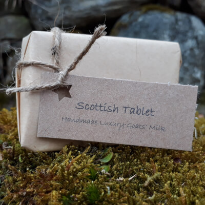 Smelleez Scottish Tablet Goats' Milk Oatmeal Soap Bar
