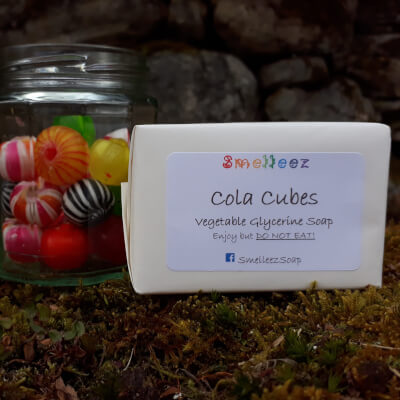 Smelleez - Cola Cubes Soap Bar