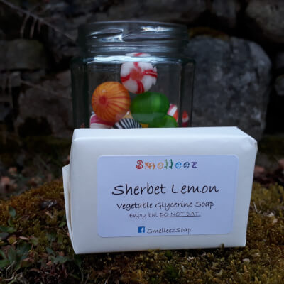 Smelleez - Sherbet Lemon Soap Bar