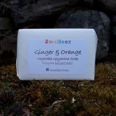 Smelleez - Ginger & Orange Soap Bar