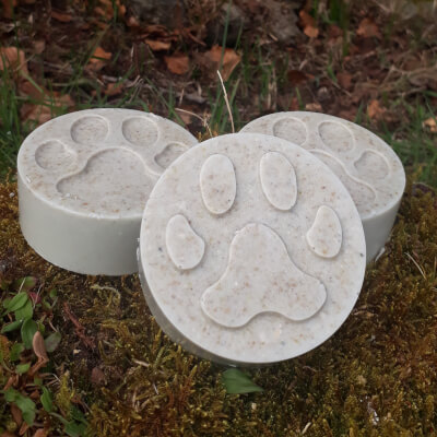 Smelleez 4 Pawz Dog Soap - All White Now!