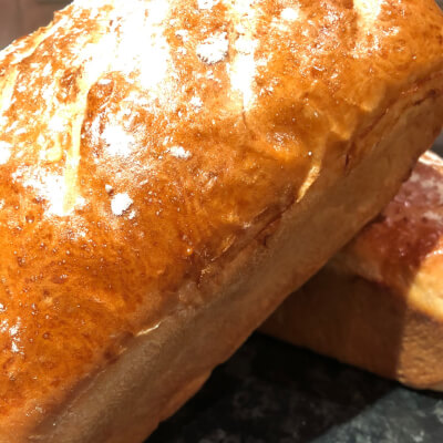 Homemade White Loaf- The Wee Coffee Shop