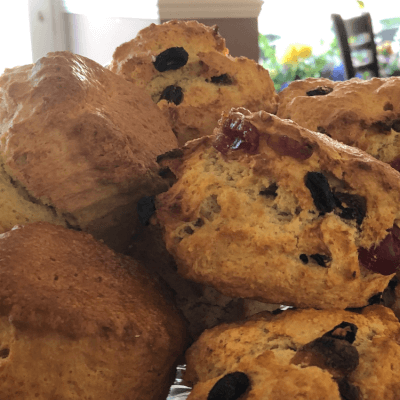 Scone Applewood Smoked Cheddar -The Wee Coffee Shop