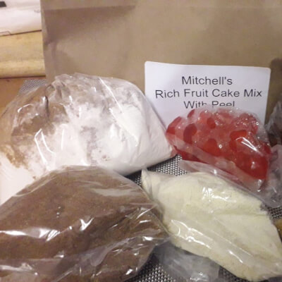Care Free Cakes And Bakes - Luxury Rich Fruit Cake Mix - With Peel