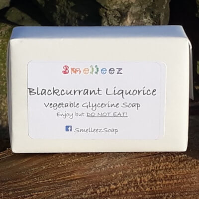 Smelleez - Blackcurrant Liquorice Soap Bar