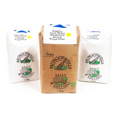 Mungoswells Strong White Bread Flour (1.5Kg)