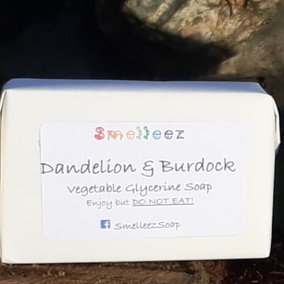 Smelleez - Dandelion & Burdock Soap Bar
