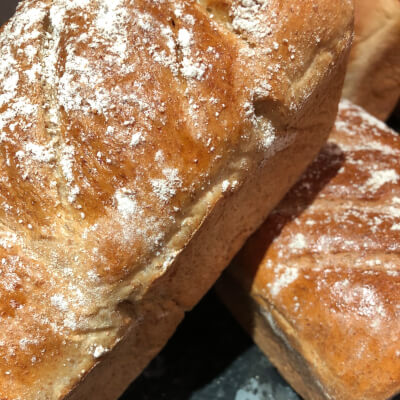 Homemade Wholemeal Loaf- The Wee Coffee Shop