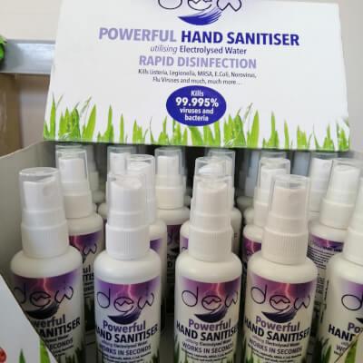 Dew Hand Sanitiser - Handbag Size