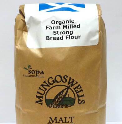 Mungoswells Organic Strong  Bread Flour 1.5Kg