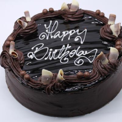 Luxury American Chocolate Birthday Cake - 14/16 Portions