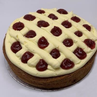Lemon & Raspberry Cake - 6 Portions