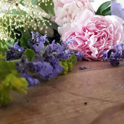 Wrap Of Seasonal Flowers