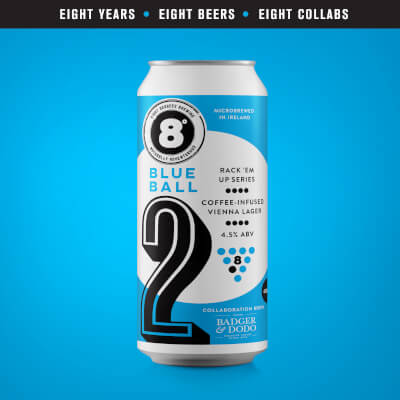 #2 Blue Ball Coffee-Infused Vienna Lager With Badger & Dodo