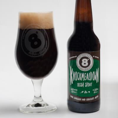 Knockmealdown Irish Stout (5% Abv)